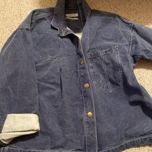 Oversized denim jacket- urban outfitters